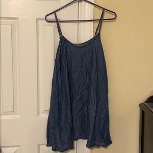 American Eagle chambray dress
